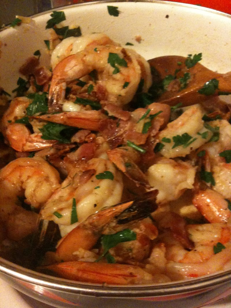Shrimp for shrimp and grits